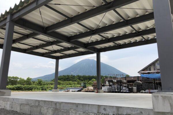 山田機械工業㈱ 倶知安営業所 倉庫
